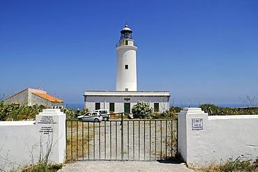 Lighthouse, Faro de la Mola, Formentera, Pityuses, Balearic Islands, Spain, Europe