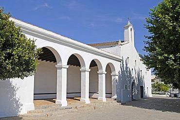 Iglesia de Nuestra Mare de Deu de Jesus church, Jesus, Ibiza, Pityuses, Balearic Islands, Spain, Europe