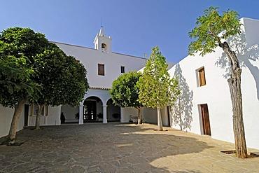Church Eglesia de Sant Miquel de Balansat or San Miguel de la Balensat, Ibiza, Pityuses, Balearic Islands, Spain, Europe