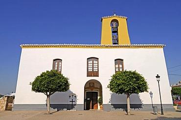 Church of Saint Gertrude, Ibiza island, Pityuses, Balearic Islands, Spain, Europe