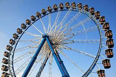 Ferris wheel, Oktoberfest Munich, Theresienwiese, Munich, Bavaria, Germany, Europe
