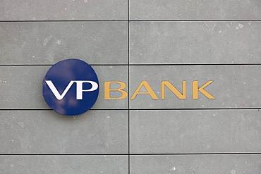 Headquarters of the Verwaltungs- und Privat-Bank AG, VP Bank, in Vaduz, Principality of Liechtenstein, Europe