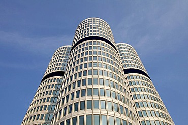 Headquarters of Bayerische Motoren Werke AG, BMW, Munich, Bavaria, Germany