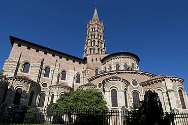Basilique Saint-Sernin, Toulouse, Haute Garonne, France, Europe