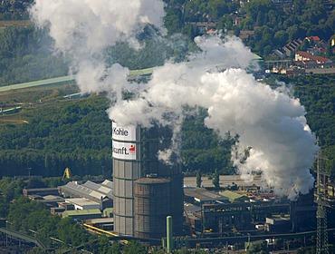 Aerial photo, Prosper Coke Plant, Bottrop, Essen, Ruhr Area, North Rhine-Westphalia, Germany, Europe
