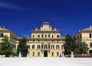 Palazzo del Giardino Ducale palace, front view, Parco Ducale, Parma, Emilia-Romagna, Italy, Europe