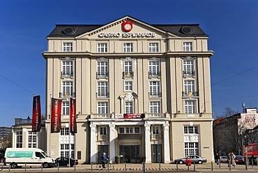 Casino Esplanade at Stephansplatz, Neustadt district, Hamburg, Germany, Europe