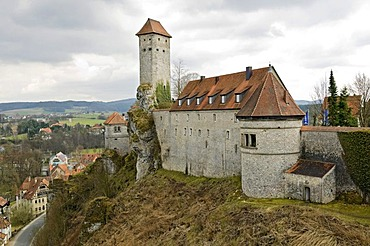 Veldenstein Castle, Neuhaus an der Pegnitz, Middle Franconia, Bavaria, Germany, Europe