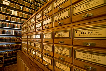 Library of the Allgemeine Lesegesellschaft Basel general reading society, Basel, Switzerland, Europe