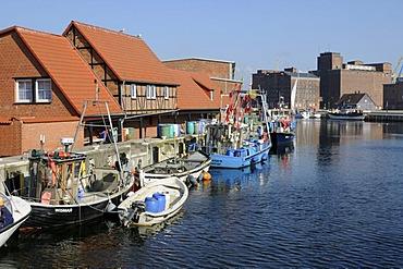 Port of Wismar, Mecklenburg-Western Pomerania, Germany, Europe