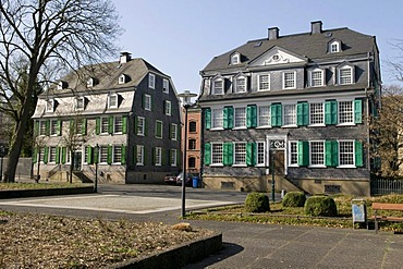 Engels House, slate house, historic centre, Wuppertal, Bergisches Land, North Rhine-Westphalia, Germany, Europe