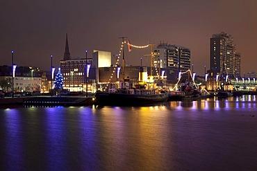 German Emigration Center, Columbuscenter, Neuer Hafen Harbor, Bremerhaven, Bremen, Germany, Europe