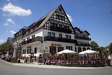 Hotel and Restaurant Hessenhof, Winterberg, Sauerland, North Rhine-Westphalia, Germany, Europe