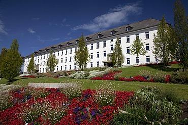 Former barracks, State Garden Exhibition, Hemer, Sauerland, North Rhine-Westphalia, Germany, Europe