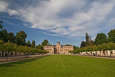 Schloss Favorite castle, Rastatt in Foerch, Baden-Wuerttemberg, Germany, Europe