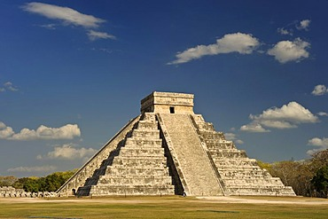Mayan Pyramid of Kuculcan, temple, calendar, 2012, Yucatan, Mexico, North America