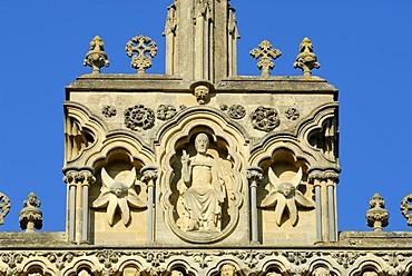 Wells Cathedral, Wells, Somerset, England, United Kingdom, Europe