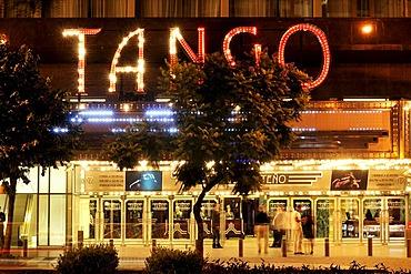 Venue for tango shows at Avenida 9 de Julio avenue, Montserrat district, Buenos Aires, Argentina, South America
