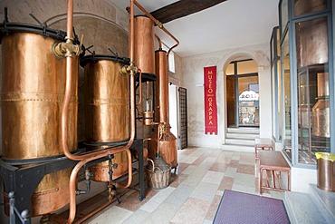 Poli, grappa museum, Bassano del Grappa, Veneto, Italy, Europe