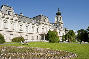 Baroque castle, Festetics kasteely, Keszthely, Hungary, Europe