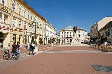 Klauzal ter, Klaus square, Szeged, Hungary, Europe