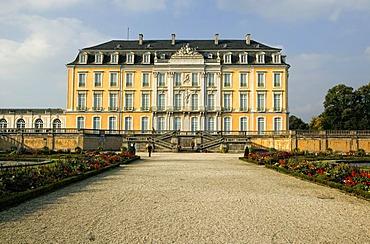 Schloss Augustusburg, castle in Bruehl, North Rhine-Westphalia, Germany, Europe
