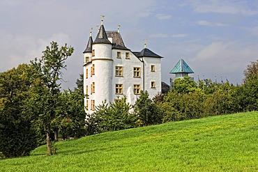 Schloss Berg castle, Nenning, Saarland, Germany, Europe