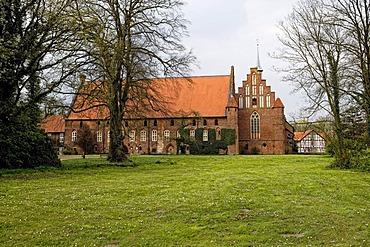 Wienhausen Monastery, Cistercian nunnery, Wienhausen in the Lueneburg Heath, Lower Saxony, Germany, Europe
