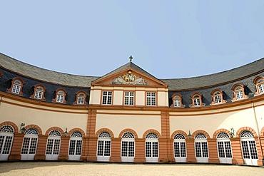 Upper orangery, Schloss Weilburg castle, Weilburg an der Lahn, Hesse, Germany, Europe