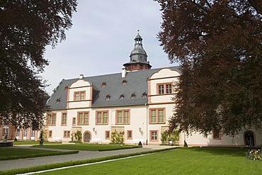 Schloss Weilburg castle, Weilburg an der Lahn, Hesse, Germany, Europe
