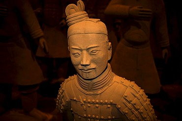 Terracotta Army exhibition, faithful replicas of the statues from XIAN in China, Weilburg an der Lahn, Hesse, Germany, Europe