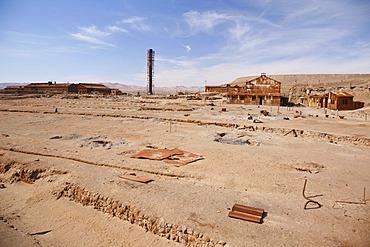 Humberstone Saltpeter Works, UNESCO World Heritage Site, Atacama Desert, northern Chile, Chile, South America