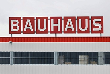 Bauhaus logo, hardware and do-it-yourself stores