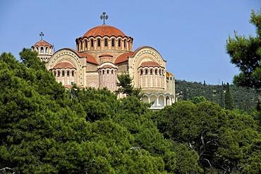Church Agios Pavlos, Thessaloniki, Chalkidiki, Macedonia, Greece, Europe