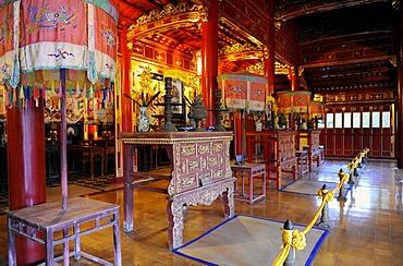 Hoang Thanh Royal Citadel, Hue, North Vietnam, Vietnam, Southeast Asia, Asia