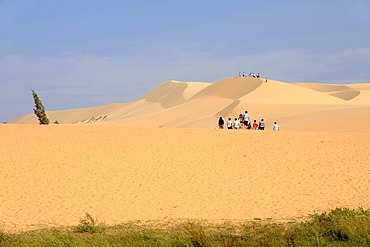 The White Sand Dunes, Bau Trang, near Mui Ne, South Vietnam, Southeast Asia