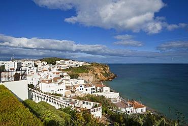 Town view, Burgau, Algarve, Portugal, Europe