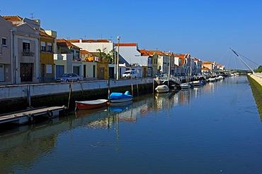 Sao Roque canal, Aveiro, Beiras region, Portugal, Europe