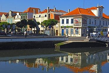Canal central, Aveiro, Beiras region, Portugal, Europe