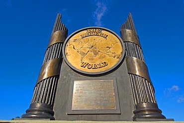 The Pillars of Hercules Monument, Gibraltar, British overseas territory, Iberian Peninsula, Europe