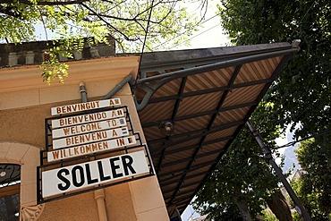 Station of Soller, Majorca, Balearic Islands, Spain, Europe