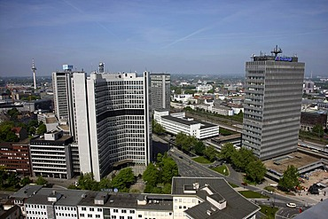 Downtown, RWE administration, Essen, North Rhine-Westphalia, Germany, Europe