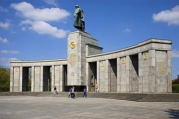 Soviet Memorial, Tiergarten, Berlin, Germany, Europe