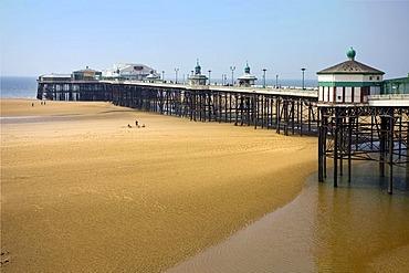 Blackpool North Pier, Lancashire, England, United Kingdom, Europe