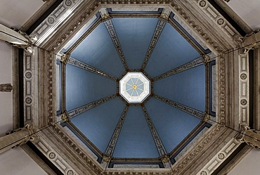 Baroque dome of Ooostkerk church, Middelburg, Walcheren peninsula, Zeeland province, South Holland, Netherlands, Benelux, Europe