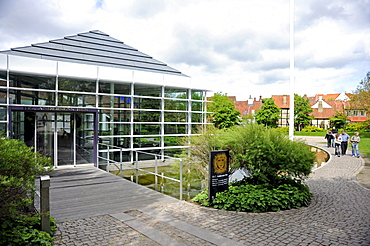 Hans Christian Andersen Museum, historic district, Odense, Funen island, Region Syddanmark, Region of Southern Denmark, Denmark, Europe
