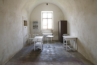 Medical room, Gestapo prison, prison of the secret state police of Nazi Germany, Terezin, Czech Republic, Europe