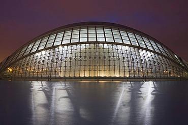 L'Hemispheric cinema, Ciudad de las Artes y las Ciencias Valencia, Comunidad Valencia, Spain, Europe
