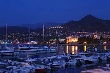 L'lle Rousse Harbour, Corsica, France, Europe