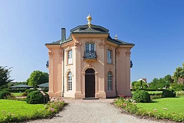 Pagodenburg pavilion, Rastatt, Baden-Wuerttemberg, Germany, Europe